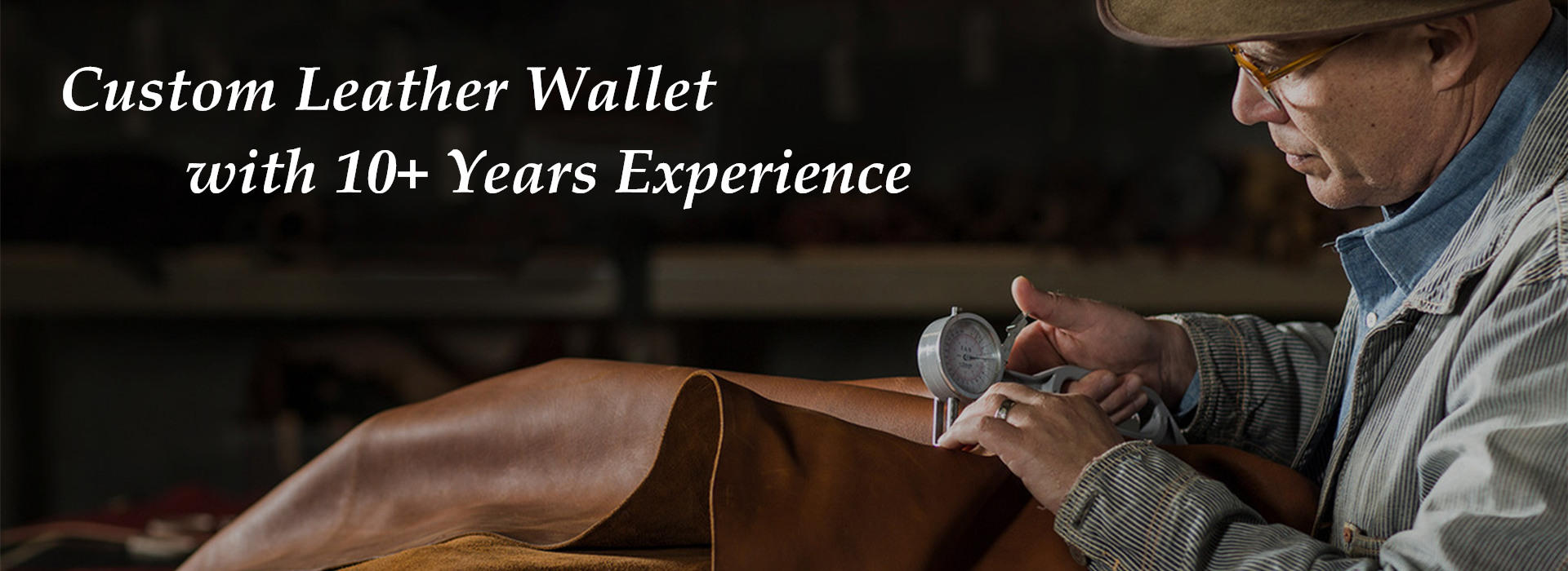 Custom Leather Wallet Manufacturer, Leather Wallet factory