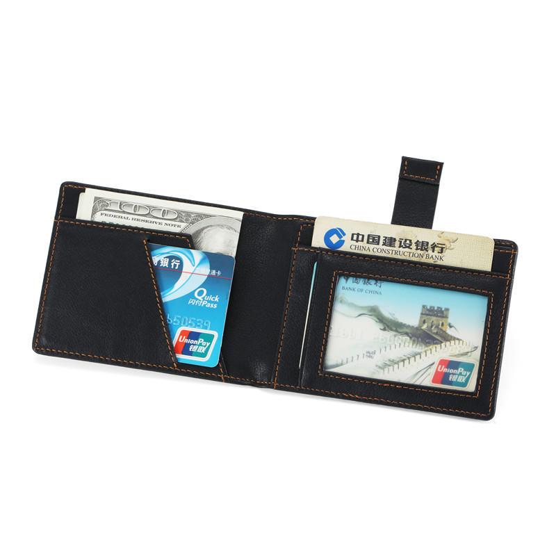 Mens RFID ID windows Wallet Slim Credit Card Holder Wallet LT-BMM014