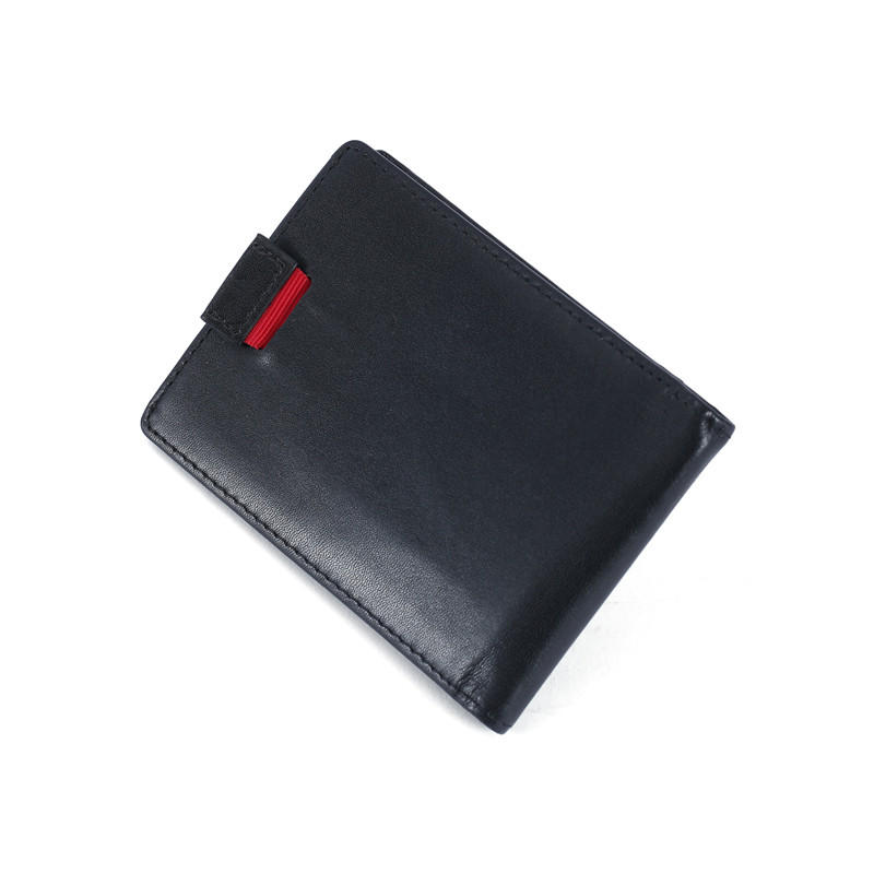 Slim Wallet for Men Money Clip RFID Blocking Bifold Grain Leather Front Pocket Wallet LT-BMM022