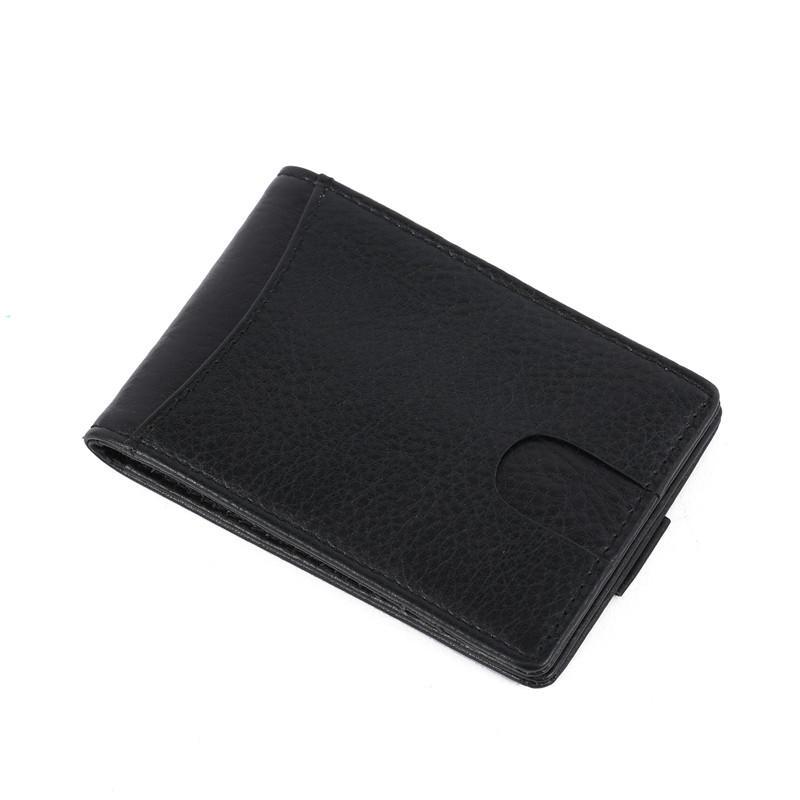 RFID Blocking BiFold Vintage Slim Men's Money Clip Front Pocket Wallet LT-BMM025