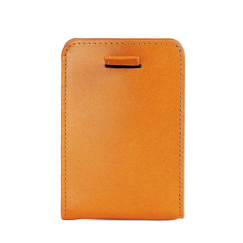 Leather Men's RFID Slim Credit Card Holder Money Clip Wallet LT-BMM046