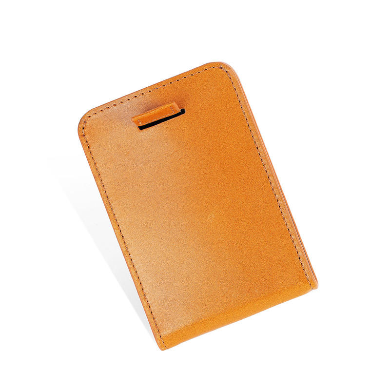 Leather Men's RFID Slim Credit Card Holder Money Clip Wallet LT-BMM046