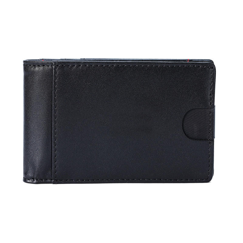 ODM/OEM Leather Magnetic Front Pocket Money Clip Wallet RFID Slim Wallet LT-BMM048