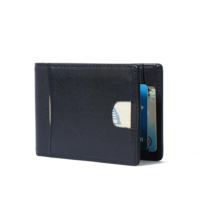 Money Clip Wallet for Men Slim Front Pocket RFID Blocking Card Holder Minimalist Bifold Wallet LT-BMM059