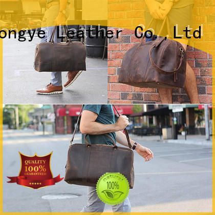 LITONG attractive mens leather work bag computer for credit card