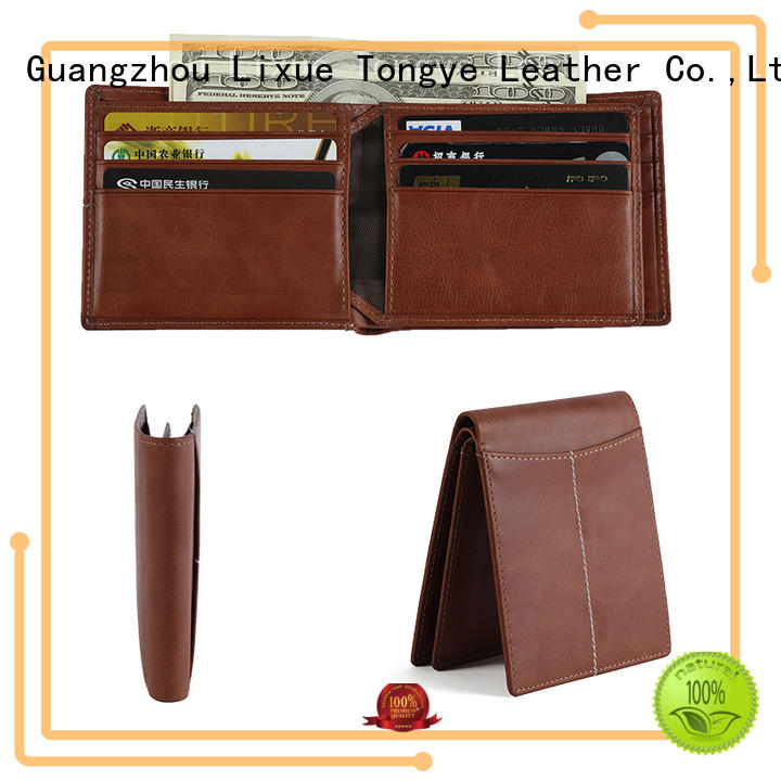 LITONG ltbmw058 minimalist leather wallet shop now for credit card