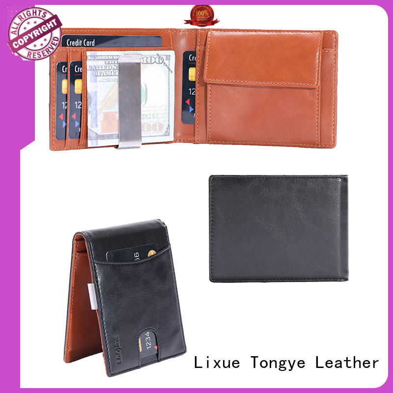 LITONG ltbmm043 best leather money clip wholesale for promotional gift
