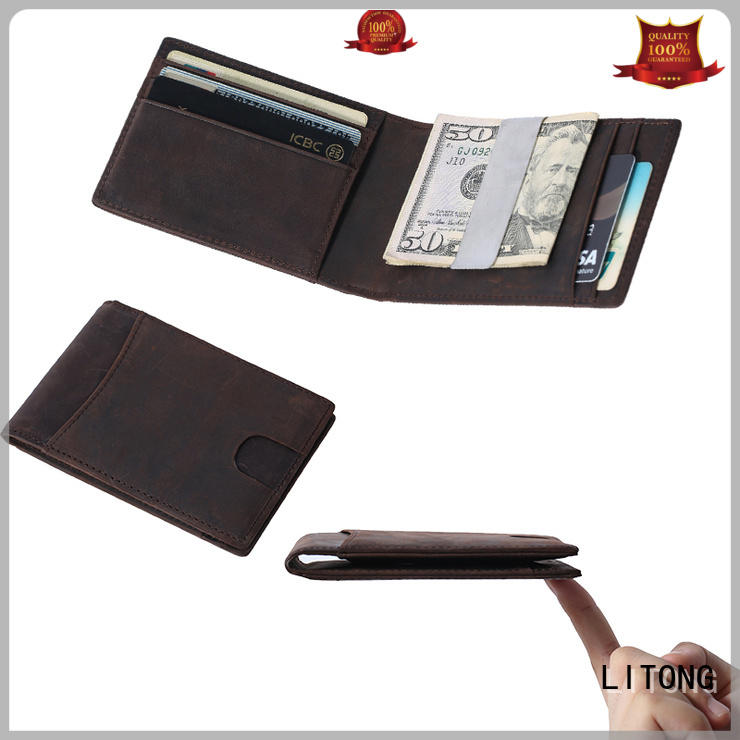 light leather money clip vegetable dropshipping for festival gift