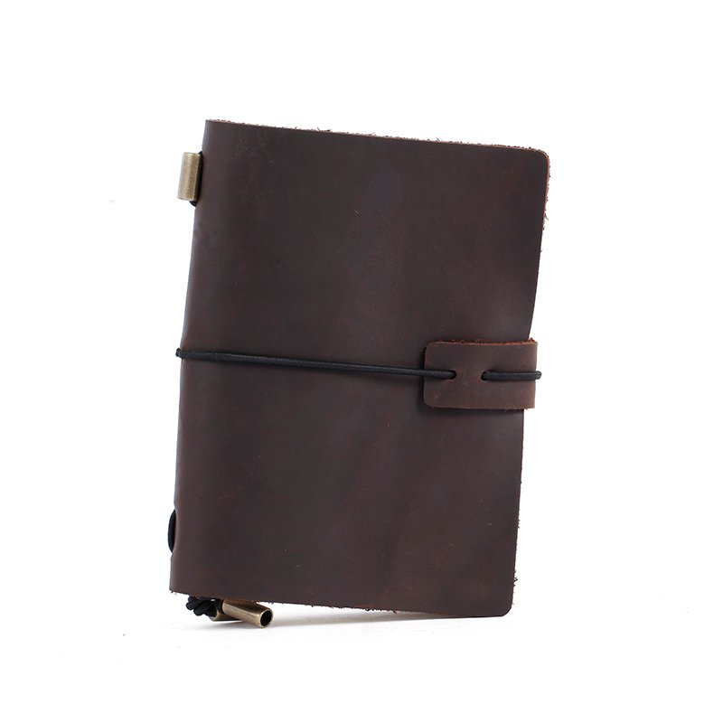 LITONG Travellers Small Format genuine leather Journal Diary Notebook Business Travellers Notebook LT-LJ002 Leather Journals image4