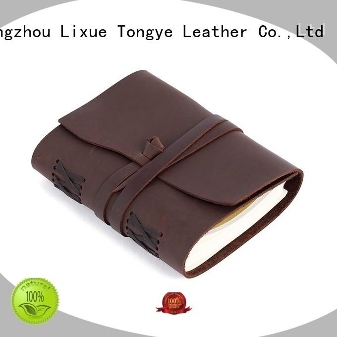 diary paper leather notebook LITONG Brand