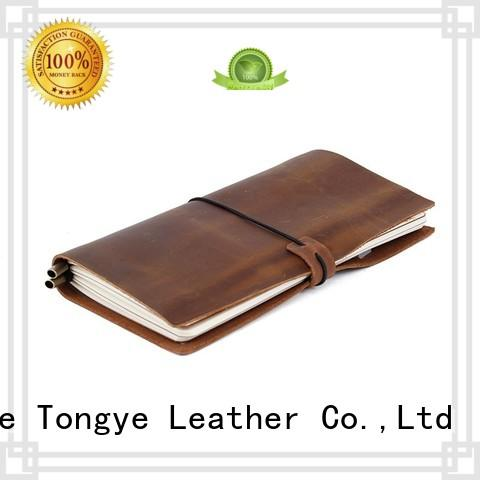 Quality LITONG Brand grain pen leather notebook