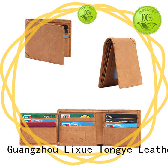 LITONG good-looking slim leather wallet for woman