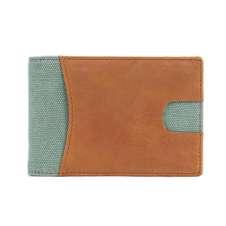 OEM fashion money clip wallet with RFID blocking LT-BMM039