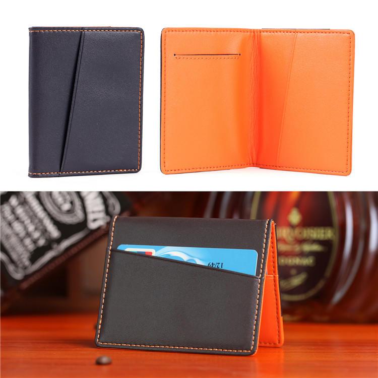 Rfid Leather Wallet Manufacturer Slim Minimalist Wallet Factory BM-LTW001