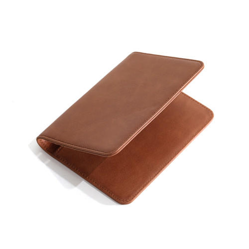 OEM Rfid Blocking Wholesale Men Travel Wallet Passport Cover Vintage Genuine Leather Passport Holder