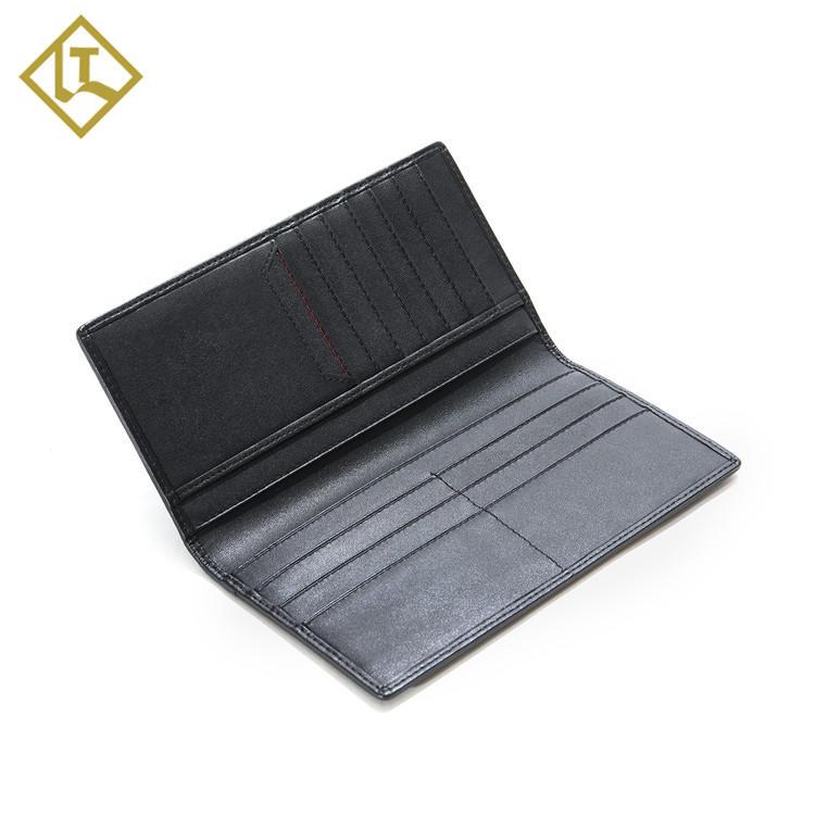 Mens Bifold Waterpoof Wallets Nylon RFID Slim Mens Long Wallets Canvas Leather Wallet Clutch