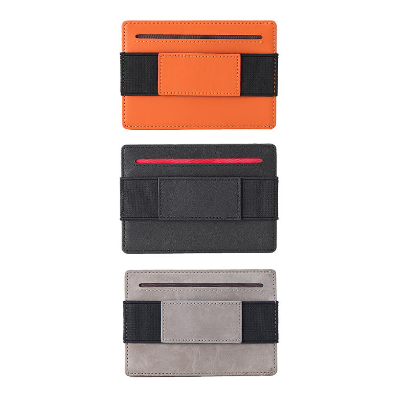 New Design Front Pocket Credit Card Holder for Men Durable Elastic Slim Minimalist Wallet