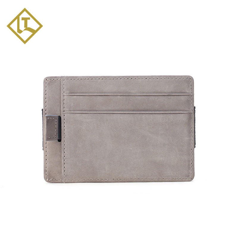 New Design Front Pocket Credit Card Holder for Men Durable Elastic Slim Minimalist Wallet