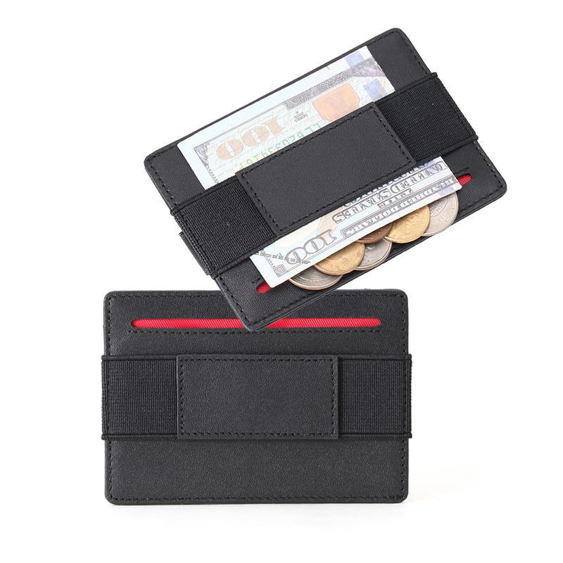 Minimalist Card Holder RFID Wholesale Leather Wallet Factory LT-BMC102