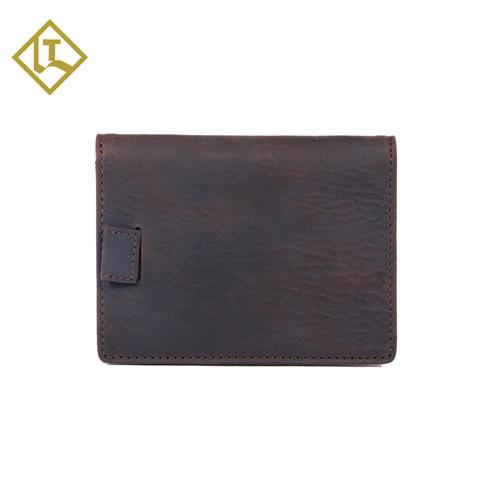 Wallets for Men Slim Mens leather RFID Blocking Minimalist Card Front Pocket Bifold Travel Thin wallet LT-BMW065
