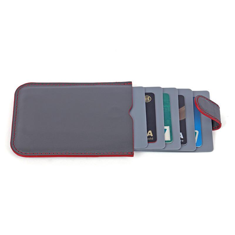leather Minimalist credit card holder business card case LT-BMC035