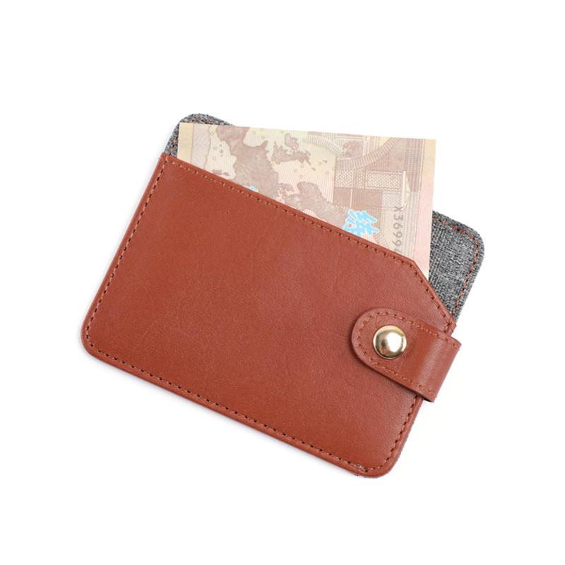 Minimalist Secure Ultra Thin Wallet Slim Card Holder for Men LT-BMC082