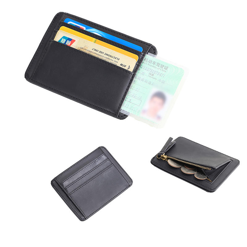 Credit Card Holder Slim Wallet RFID Front Pocket Minimalist Wallet LT-BMC089
