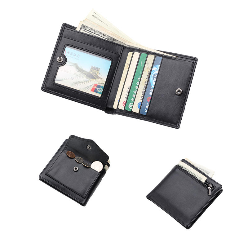 RFID Mens Leather Wallet ID Window Leather Wallet Wholesale LT-BMW010