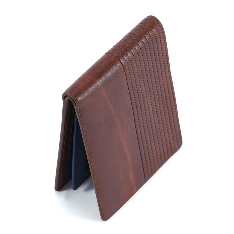 Mens Leather Wallets Wholesale Brown Leather Wallet For Mens LT-BMW022