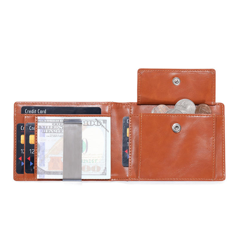 Slim Rfid Wallet Minimalist Card Holder Wallet Wholesale leather wallet LT-BMM063