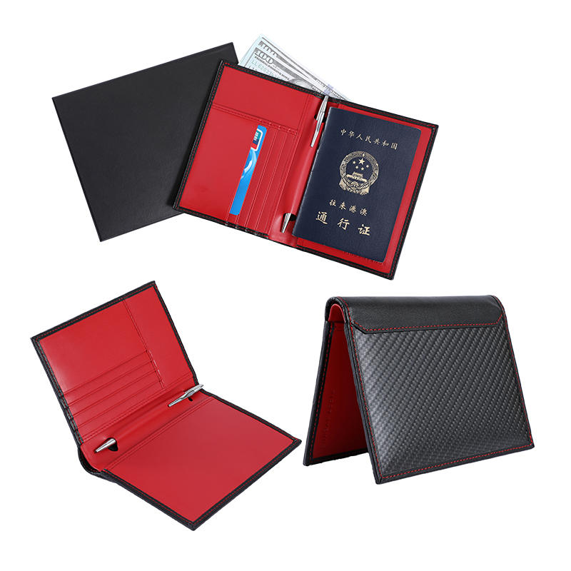 Leather Passport Holder RFID Passport Holder Cover LT-BMP015