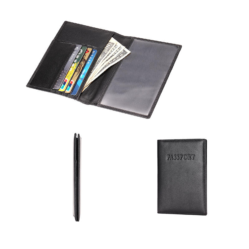 Passport Holder Wallet RFID Leather Card Case LT-BMP019