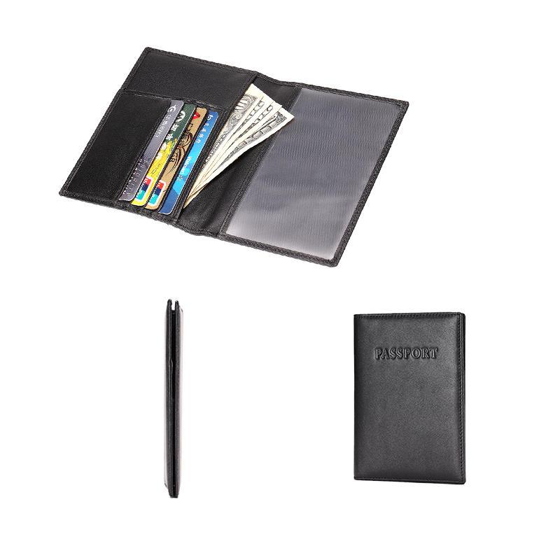 Passport Holder Wallet RFID Leather Card Case LT-BMP019