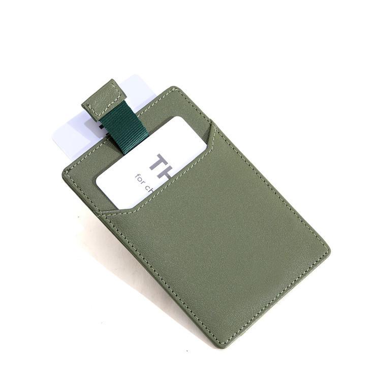 ODM/OEM ultra-slim leather RFID Card holder wallet