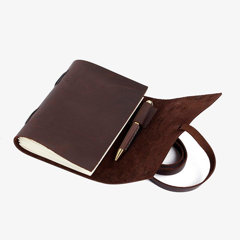 Wholesale leather leather notebook LITONG Brand