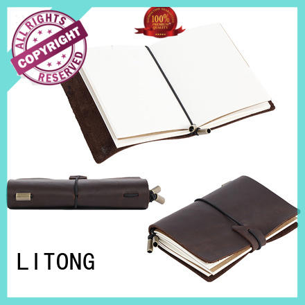 LITONG leather leather diary stylish for daily life