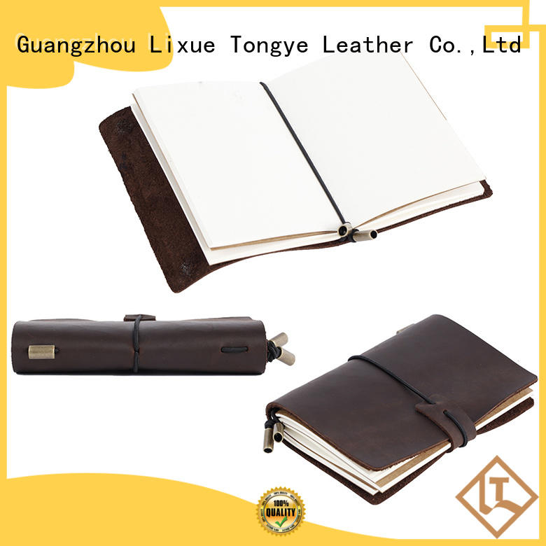 Wholesale notep leather bound notebook LITONG Brand