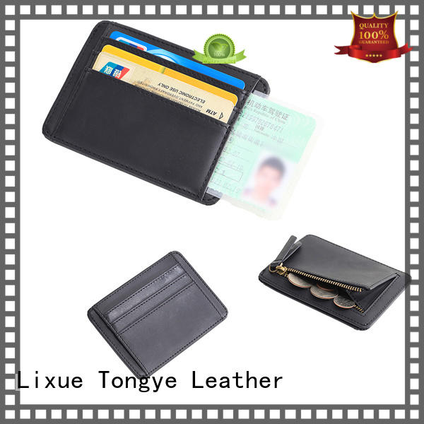 LITONG ltbmc006 leather credit card holder owner for credit cards