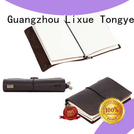 fashion custom leather journals stylish for promotional gift