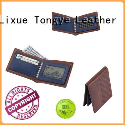 saffiano personalised leather wallet ltbmw020 for gift LITONG