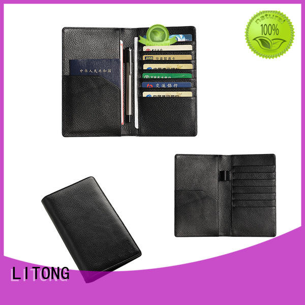 special mens leather passport holder real wholesale for passport
