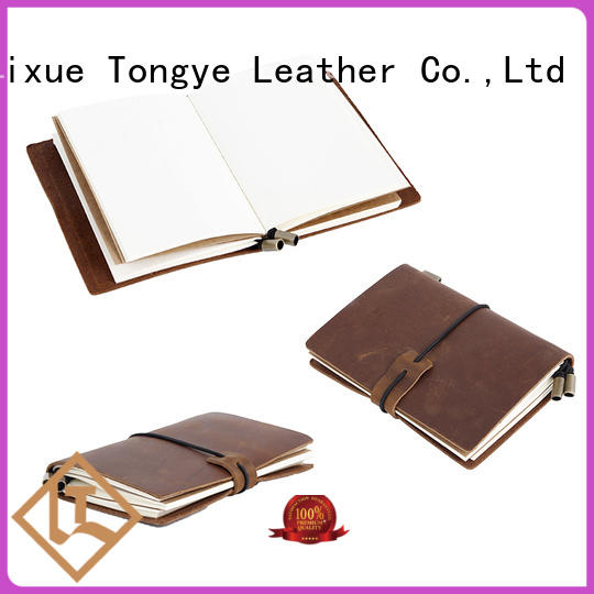 Quality LITONG Brand journal leather notebook