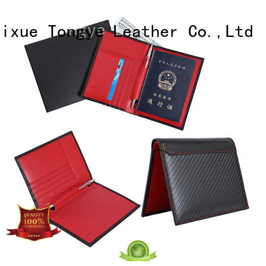 special leather passport sleeve quality funtionable for credit cards