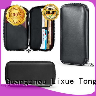 LITONG luxury best leather passport holder supplier for passport