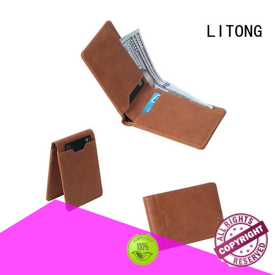 LITONG good-looking cool leather wallets grab now for cash