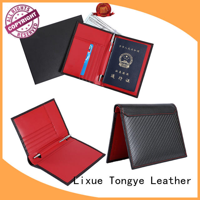 special personalised leather passport holder leather supplier for passport