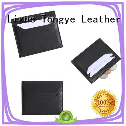 slim leather card case mens owner for credit cards