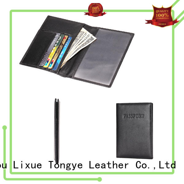 leather rfid passport wallet quality crazy Bulk Buy style LITONG