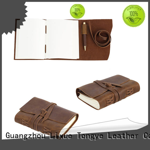 luxury leather diary journal travelers for manufacturer for promotional gift