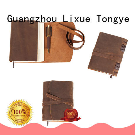 special leather traveler's notebook in china for travel